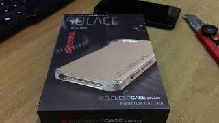 Unboxing Element Case Solace Mi5