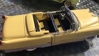 1:24 Danbury Mint 1954 & 1957 Cadillac + 1958 Pontiac