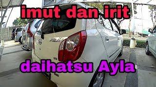 Review Mobil Bekas, Daihatsu Ayla X matic th 2015