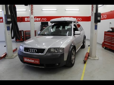 Audi A6 Allroad: Hvordan bytte endeledd forstilling (A4, A6, VW Passat) 1999 til 2005 mod. (C5)