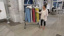 Denim & Co. Original Waist Stretch Pants with Side Pockets on QVC