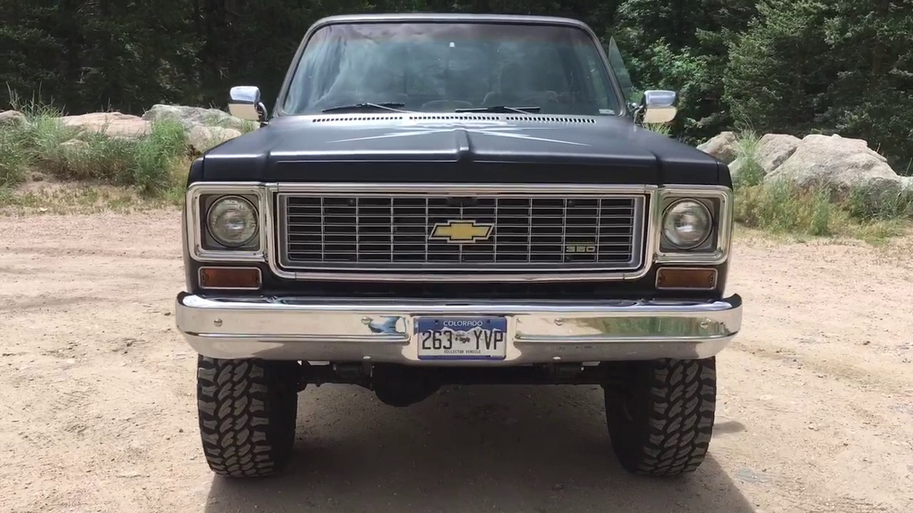 small resolution of 1974 chevy k10 truck with 383 stroker 414 hp engine 4