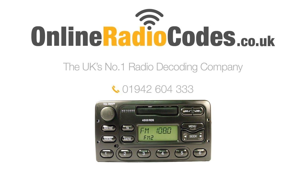 Daewoo Radio Code By Serial