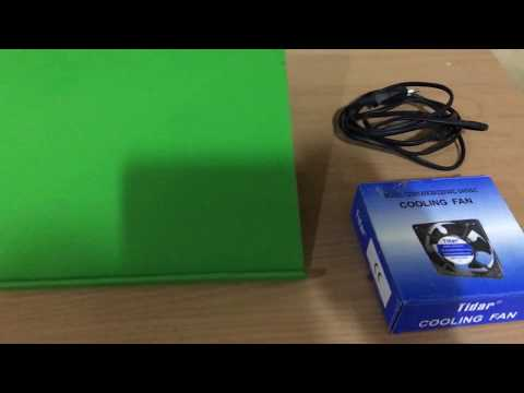 DIY 220 volts laptop cooling pad with high RPM!