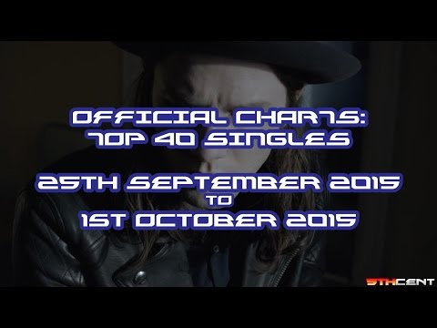 Official Charts (UK): Top 40 Singles (25th September 2015 - 1st October 2015)
