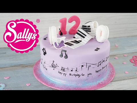 Violetta Torte / Disney Motivtorte / Sallys Welt