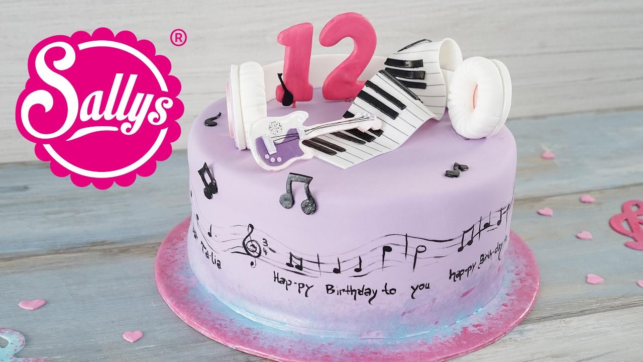 Violetta Torte  Disney Motivtorte  YouTube