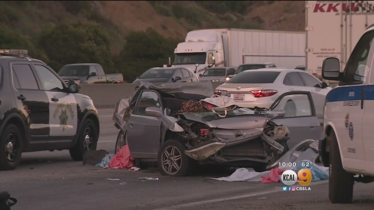 Deadly Pileup On The 210 Freeway