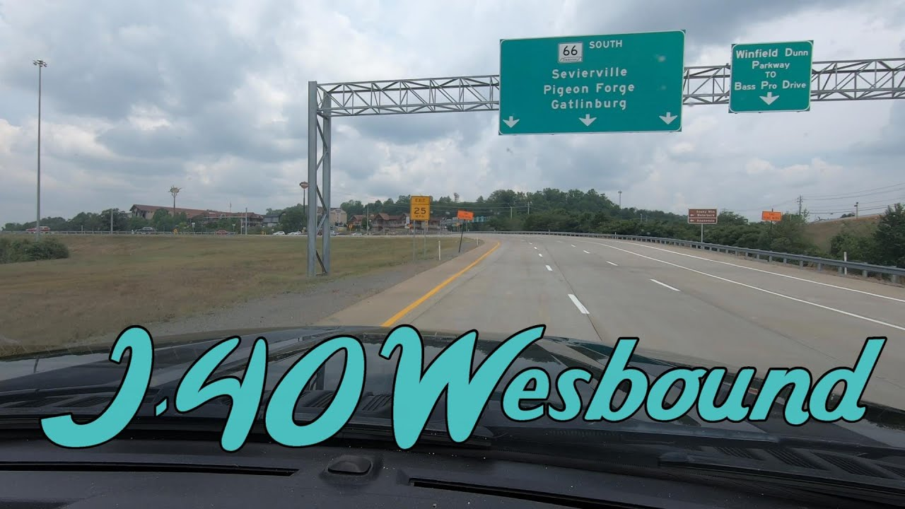 I-40 Westbound Asheville to Sevierville