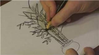 Nature Drawings : How to Draw Bamboo Trees