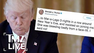 Donald Trump: Ignites War W/ MSNBC   TMZ Live