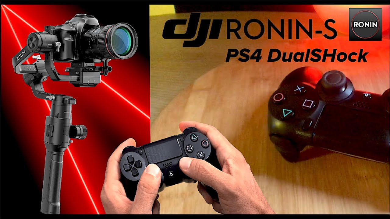 Dji Ronin S PS4 DualShock Bağlantısı Kurulum Kullanım Detaylı Anlatım
