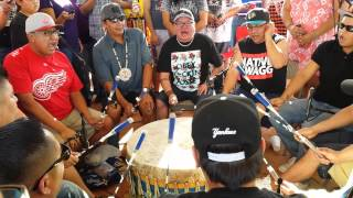 Repeat youtube video Northern Cree live @ Red Mtn Eagle Powwow 2013