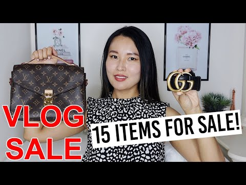 Designer VLOG SALE 2020 | Louis Vuitton, Gucci, Hermès Etc!