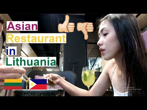 Trying Asian Restaurants in Lithuania | Good or Bad? (PinayVlog) | it'srofa