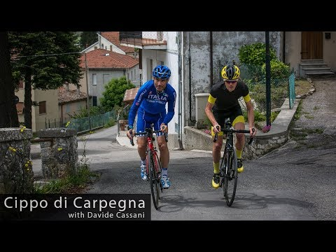 Cippo di Carpegna (Pantani's Climb) with Davide Cassani - Cycling Inspiration & Education