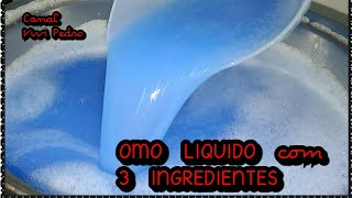 OMO LÍQUIDO com 3 INGREDIENTES