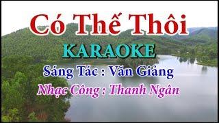 Có Thế Thôi - Karaoke Nhạc Sống Thanh Ngân