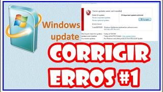 Corrigir erro no windows update