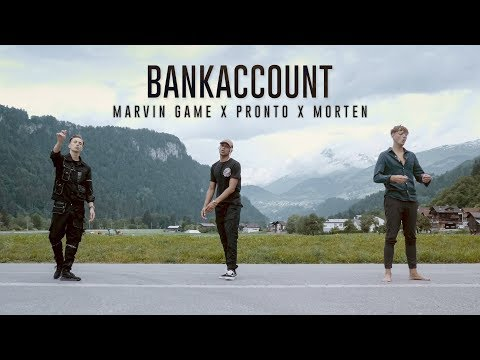 Marvin Game x Pronto x morten - Bankaccount (prod. by The Rookiez) (Official Video)