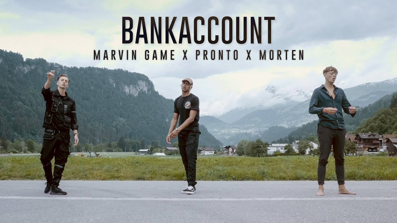 Marvin Game X Pronto X Morten Bankaccount Prod By The Rookiez Official Video Youtube