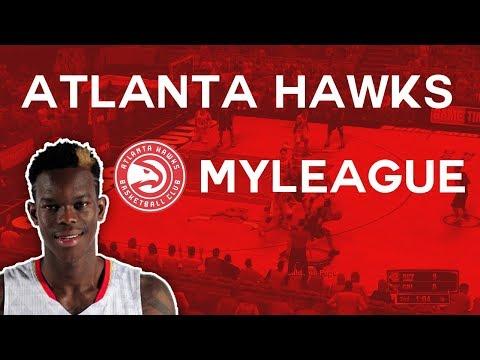 It's Marvin Bagley Season Boys... NBA 2K18 Atlanta Hawks MyGM/MyLeague Episode 1