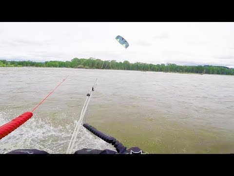 Download Youtube: Casually kiteboarding up a river and then… | POV