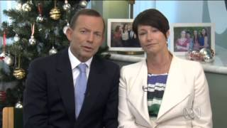 Tony Abbott wishes Australians a merry Christmas