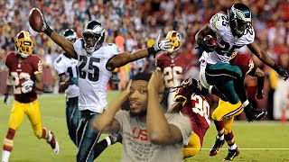 LMAO RAN EM INTO EACH OTHER! LESEAN SHADY MCCOY ULTIMATE HIGHLIGHT REACTION!!!