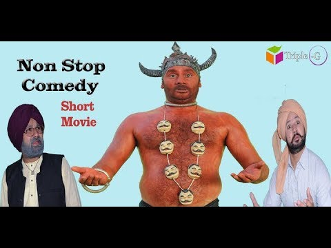 CHACHA BISHNA || NON STOP COMEDY (Official Movie) | PUNJABI MOVIE | 2019