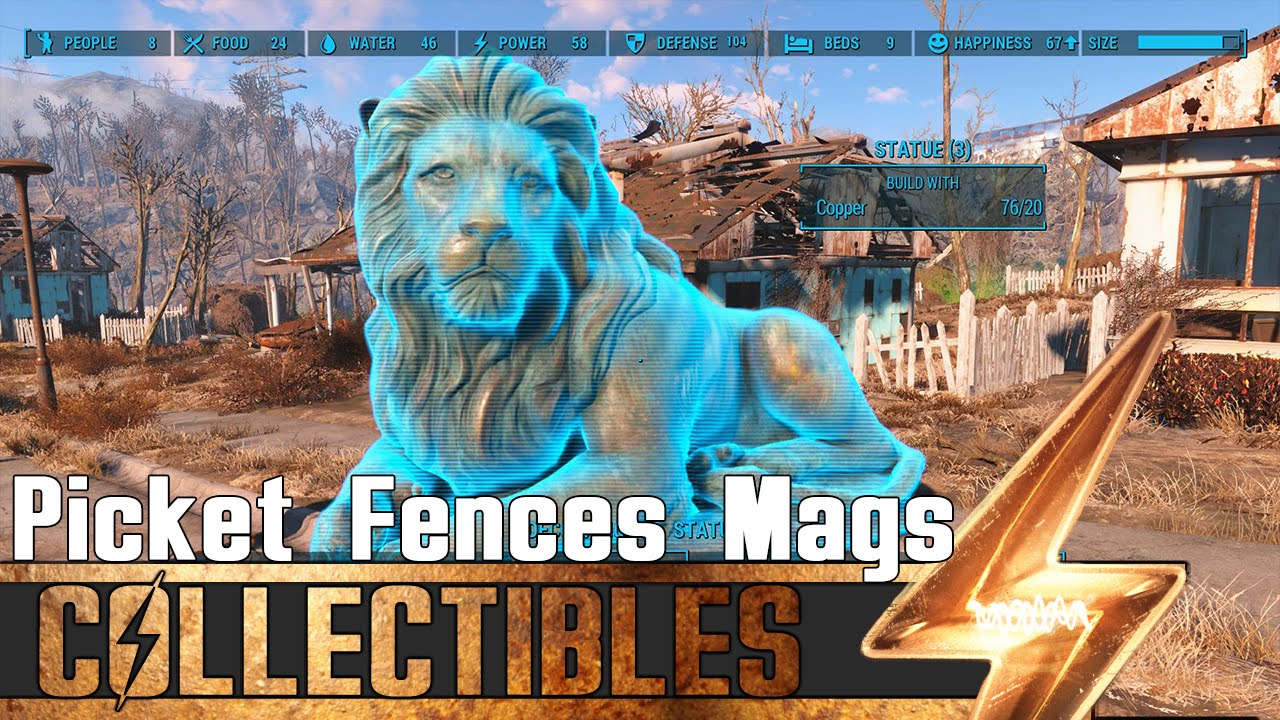 Fallout 4 All Picket Fences Magazines Location Guide Youtube