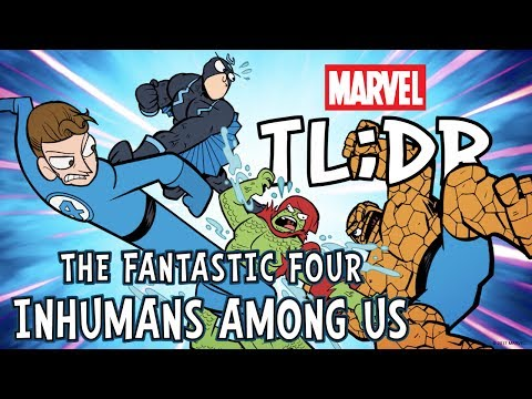 The Inhumans Among Us, in 3 Minutes – Marvel TL;DR