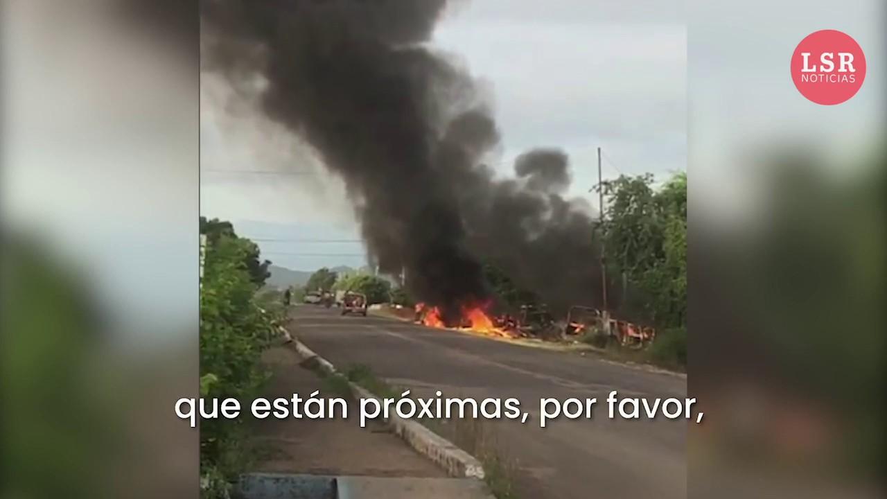 Así fue la emboscada contra policías en Aguililla, Michoacán