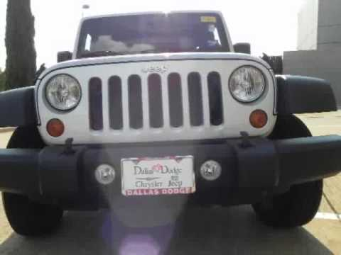2010 jeep wrangler 4 door 4x2 at dallas dodge chrysler jeep youtube. Cars Review. Best American Auto & Cars Review