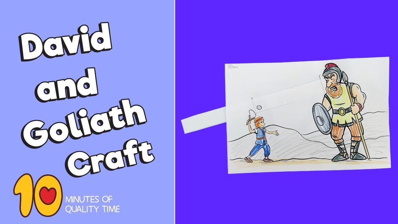 David and Goliath Craft – 10 Minutes of Quality Time