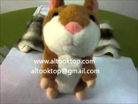 d181e33ea436 HOT talking hamster animal Mimicry Pet Talking Plush Toy - YouTube