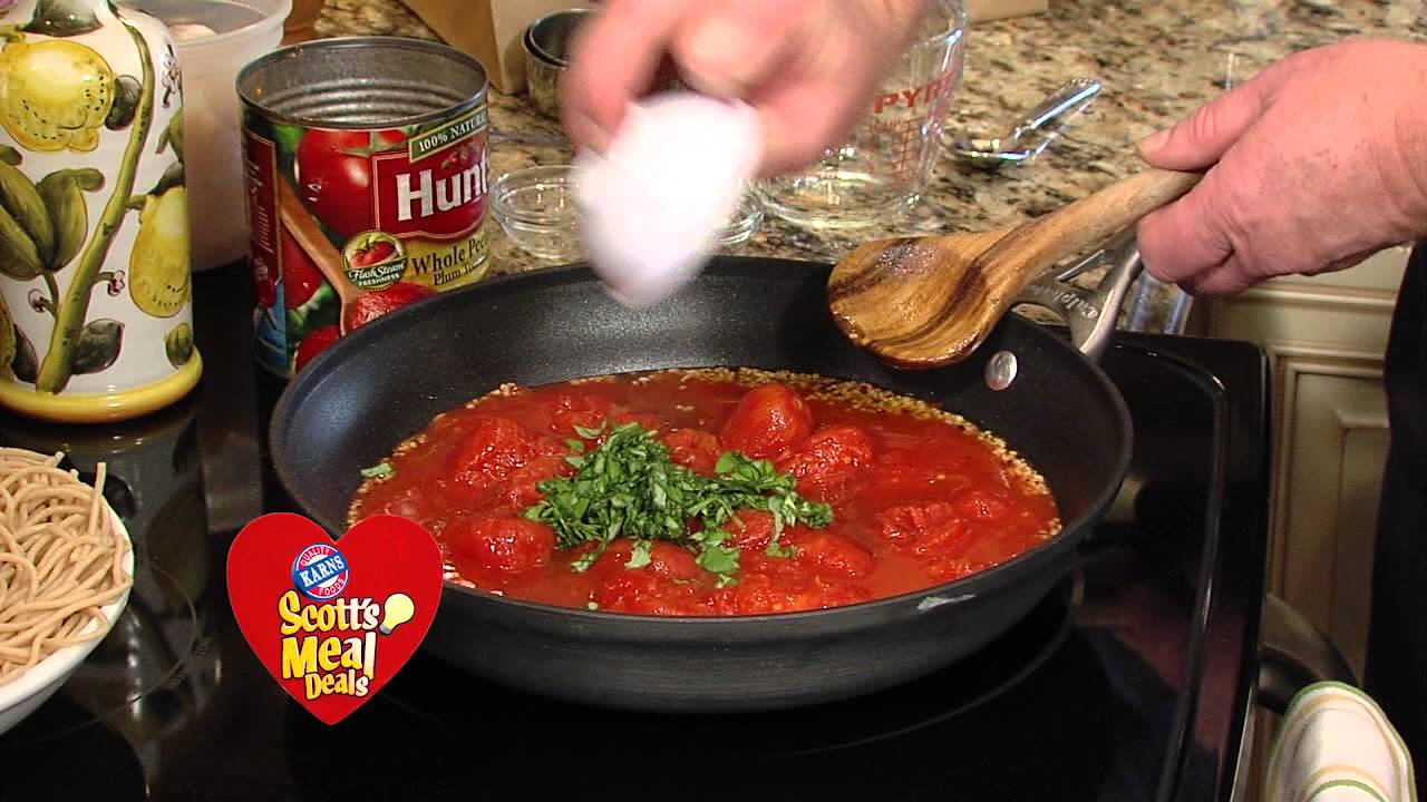 how to make spaghetti marinara video