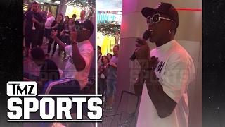 DENNIS RODMAN STREET PERFORMING IN VEGAS | TMZ Sports