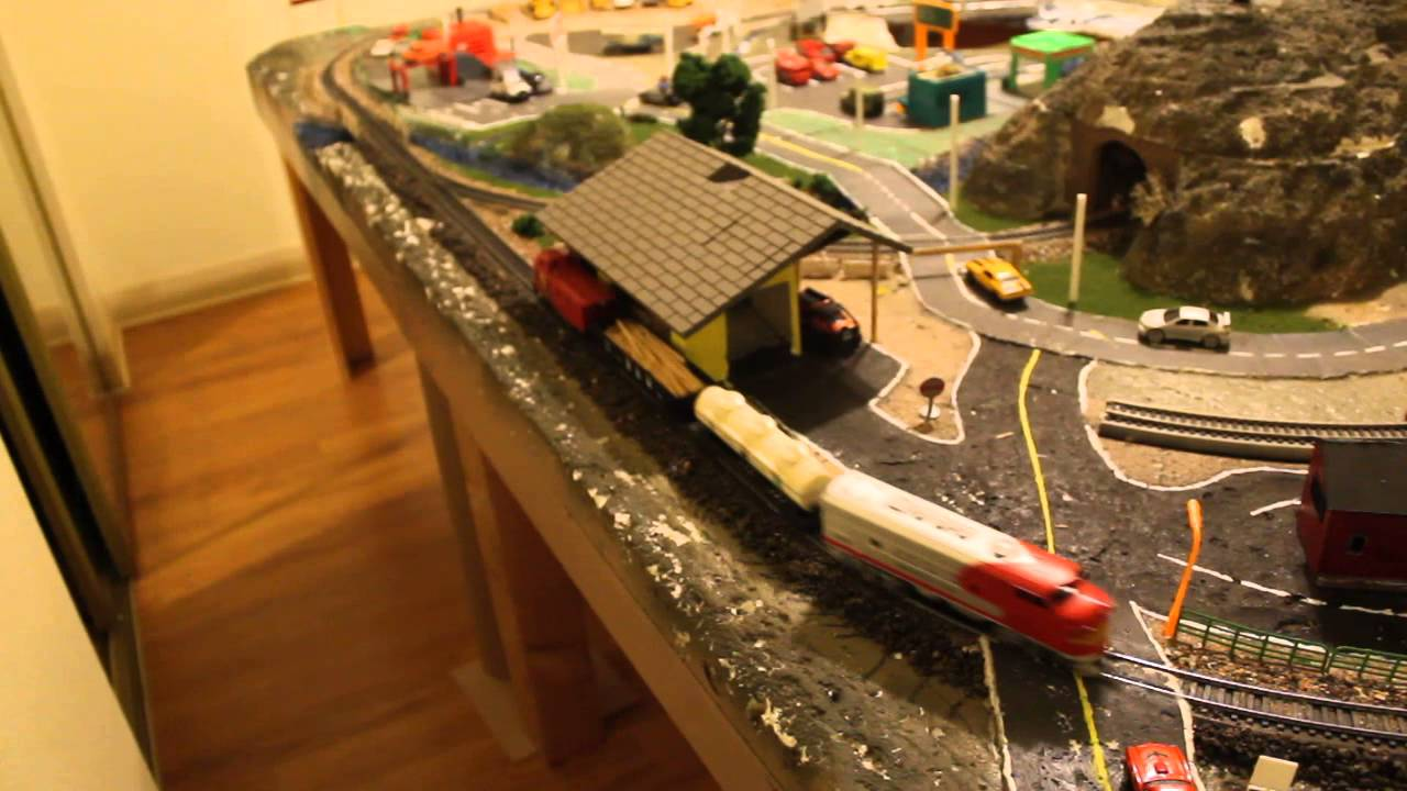 how to build a ho scale layout grade