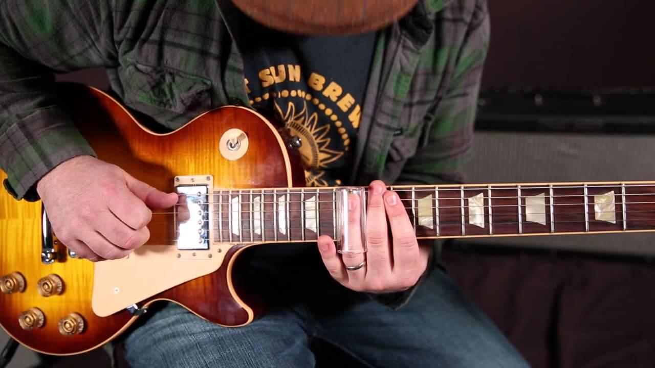 blues slide guitar lesson 12 bar blues riffs with slide guitar youtube. Black Bedroom Furniture Sets. Home Design Ideas