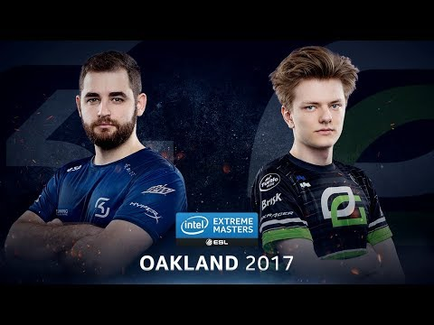 CS:GO - SK vs. OpTic [Inferno] Map 2 - Quarterfinal - IEM Oakland 2017