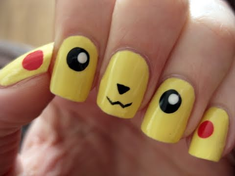 pokemon go nail art designs