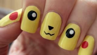 Pokemon: Pikachu Nail Art