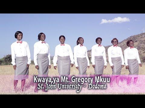 NITAKUTUKUZA MUNGU_by Kwaya Ya Mt.Gregory Mkuu, St. John University DODOMA TZ