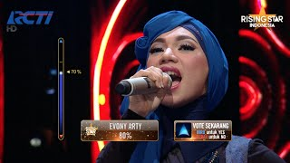 "Indah Nevertari ""Nirmala"" Siti Nurhaliza - Rising Star Indonesia Lucky 7 Eps 21"