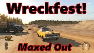 Next Car Game [Wreckfest] Max Settings on New PC!