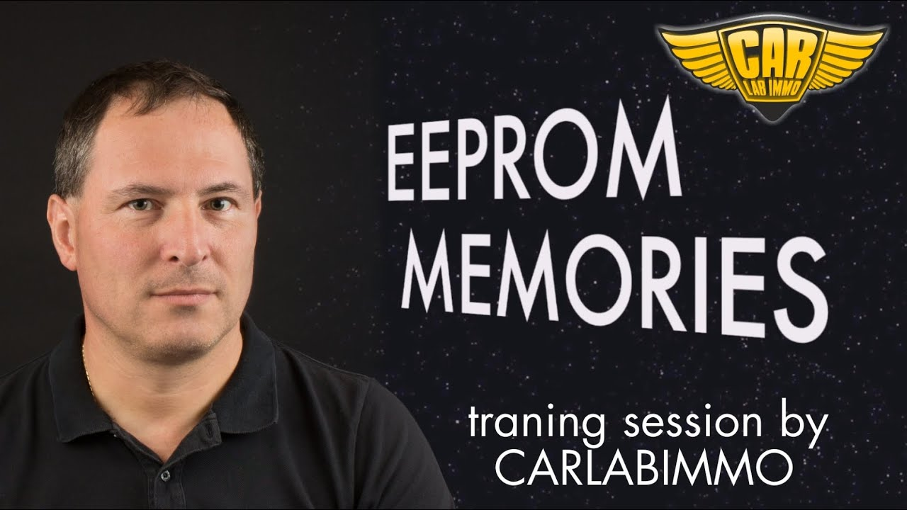 EEPROM memory in car electronics - traning session by CarLabImmo