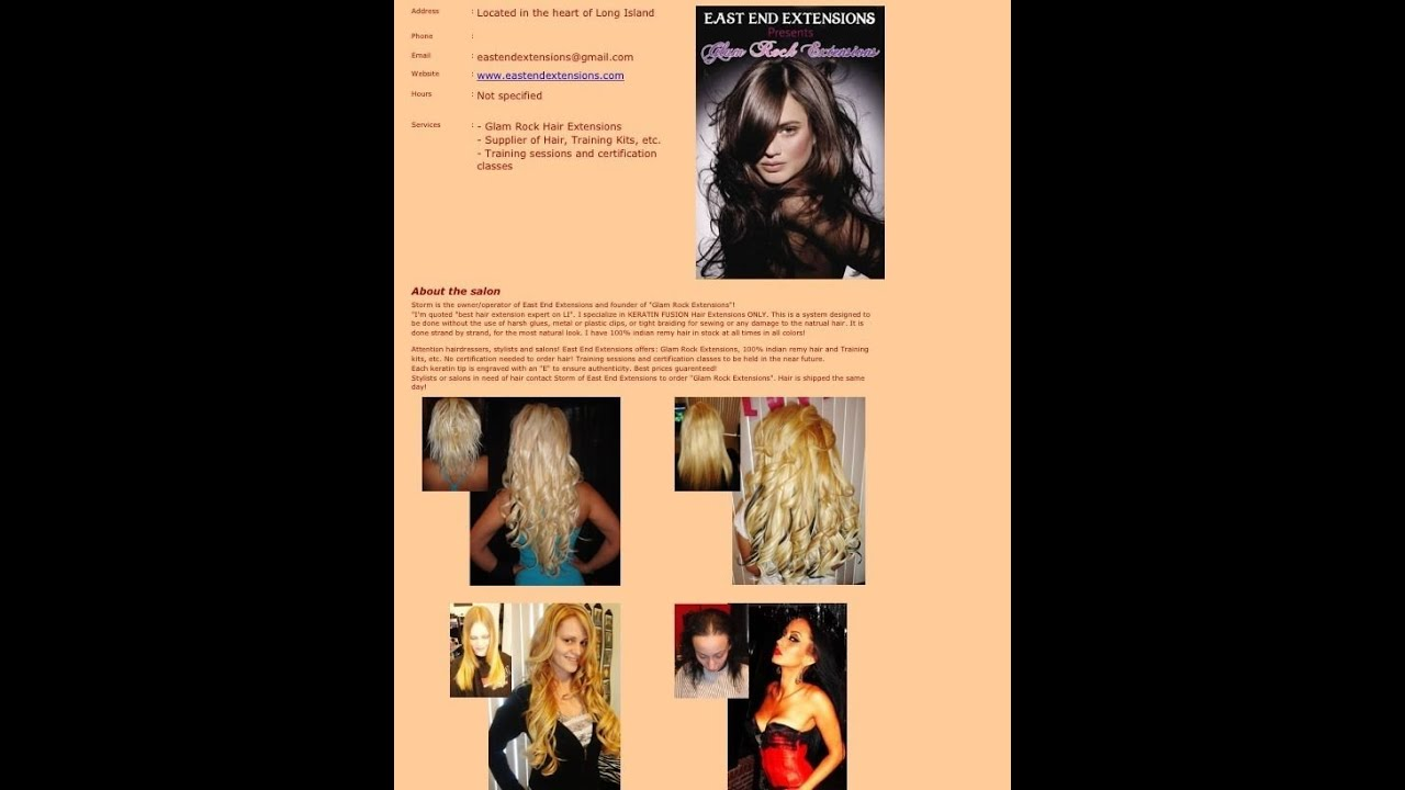 Watch Rebeccas Transformation Here Keratin Fusion Extensions Youtube