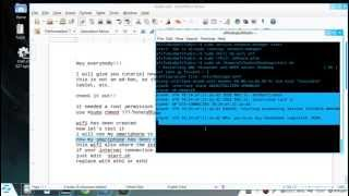 How To Make Wifi From Linux (not an ad-hoc)