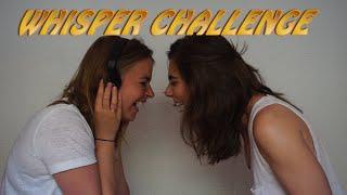 WHISPER CHALLENGE en français! (lesbienne couple edition) [fr sub]
